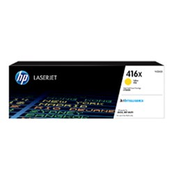 HP TONER CARTRIDGE 416X Yellow