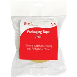 STAT PACKAGING TAPE 48mmx50m Clear