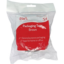 STAT PACKAGING TAPE 48mmx50m Brown