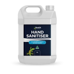 BOSTIK HAND SANITISER GEL 5L