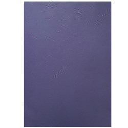 CUMBERLAND BINDING COVERS A4 Leathergrain Royal Blue Pack 100