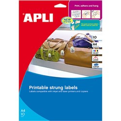 APLI STRUNG TICKETS 28x43mm Pack 10 Sheets 11946