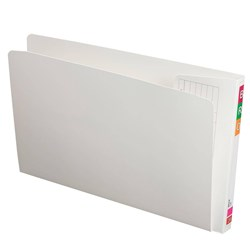 AVERY FULLVUE WHITE LATERAL FILE F/C 30MM GUSSET WHITE