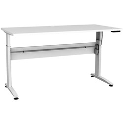 CONSET SINGLE STRAIGHT ELECTRIC DESK 1200W X 800D (FLAT PACKED)