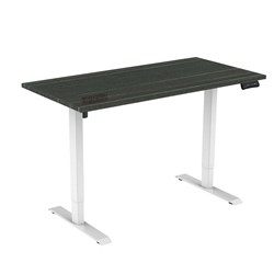UPRYZ XS SIT & STAND DESK SD201 1500mm 2 stage 1 Motor white - Blackened Linewood top