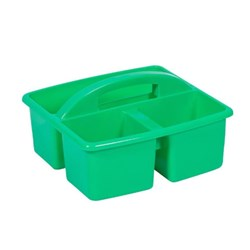 SMALL PLASTIC CADDY GREEN