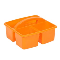 SMALL PLASTIC CADDY ORANGE