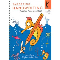 TARGETING HANDWRITING TEACHERS RESOURCE BOOK KINDER