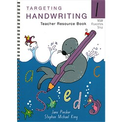 TARGETING HANDWRITING TEACHERS RESOURCE BOOK YEAR 1