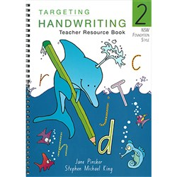 TARGETING HANDWRITING TEACHERS RESOURCE BOOK YEAR 2
