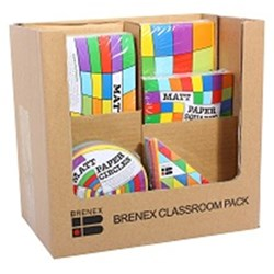 BRENEX CLASSROOM PACK ASSORTED SHAPES