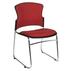 FOCUS 1 SIDE CHAIR WITH SLEIGH BASE