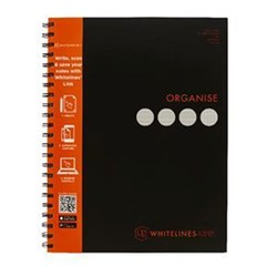 WHITELINES A4 4 SUBJECT NOTEBOOK 140 PAGE