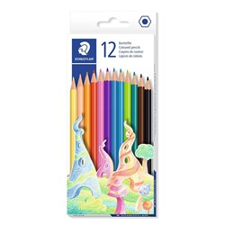 STAEDTLER BASIC COLOURED PENCILS Assorted 12