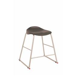 TRACT STOOL 650MM HIGH CHARCOAL