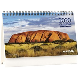 MILFORD FLIP OVER DESK Calendar 205X145Mm