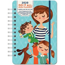 ORANGE CIRCLE PLANNER Week To View Do It All A5 2020 Mum