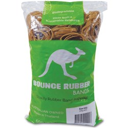 BOUNCE RUBBER BANDS® SIZE 33 500GM BAG