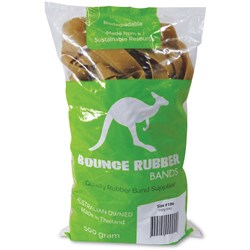BOUNCE RUBBER BANDS® SIZE 106 500GM BAG