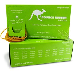 BOUNCE RUBBER BANDS® SIZE 19 100G
