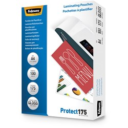 FELLOWES® IMAGELAST Laminating Pouch A4 175 Micron Pack of 100