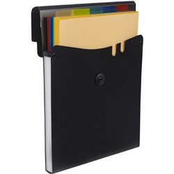 MARBIG PROFESSIONAL EXPANDING file 5 Removable Pockets Black Vertical