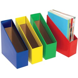 MARBIG BOOK BOX LARGE BLUE 17 (w) x 25 (d) x 27 (h)cm Pack 5