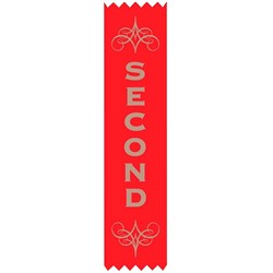 AVERY MERIT RIBBONS 4TH 150x35mm Satin Pk100