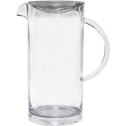 CONNOISSEUR POLYCARBONATE JUG Straight Sided With Lid 2 Litre