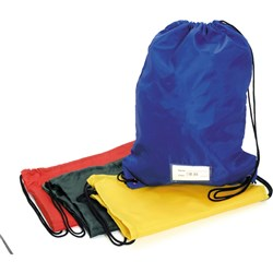 EC GYM BAGS 330x440mm Blue