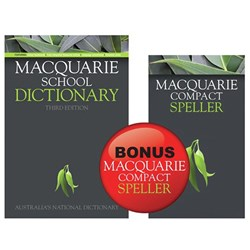 MACQUARIE SCHOOL DICTIONARY & Compact Speller Value Pack
