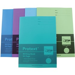 PROTEXT POLY WRITING BOOK 18mm Dotted Thirds 64pg - Ant