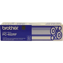 BROTHER COMPATIBLE FAX FILM PC402RF 2 Pack