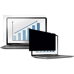 "FELLOWES PRIVACY FILTER LAPTOP/FLAT PANEL MONITOR SUITS 15"" WIDESCREEN"