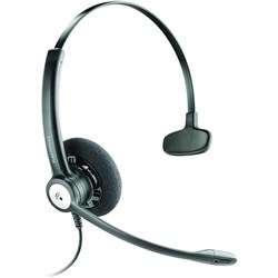 PLANTRONICS ENTERA HEADSET CORDED MONAURAL NOICE CANCEL