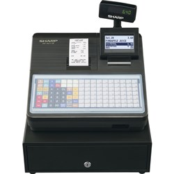 SHARP XEA217B CASH REGISTER 119 Key,Thermal, Black
