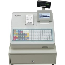 SHARP XEA217W CASH REGISTER 119 Key,Thermal, White