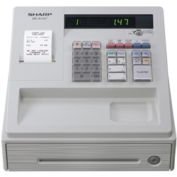 SHARP XEA147W CASH REGISTER 200PLUs White