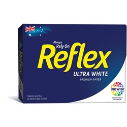 REFLEX ULTRA WHITE COPY PAPER A4 80GSM Available in 5