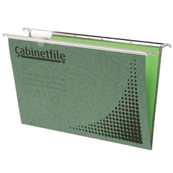 CRYSTALFILE CABINETFILE SUSPENSION FILES F/C COMPLETE GREEN