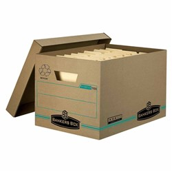 BANKERS BOX 700 ARCHIVE BOX BASIC STRENGTH W384XH254XD304