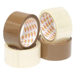 OFFICE CHOICE PACKAGING (D) TAPE BROWN 48MMX75M PACK  6