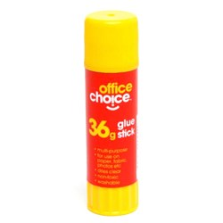 OFFICE CHOICE GLUE STICK 36GM