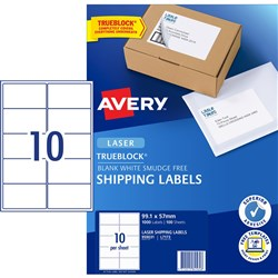 AVERY MAILING LASER LABELS L7173 10 LABELS PER SHEET