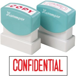 XSTAMPER 1130 CONFIDENTIAL - RED