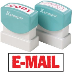 XSTAMPER 1651 EMAIL - RED
