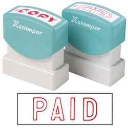 XSTAMPER 1005 PAID - RED