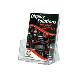 BROCHURE HOLDER DEFLECT-O A4 FREE STANDING EXTRA CAPCITY