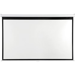 QUARTET PROJECTION SCREEN Wall 16:9, 294x166cm