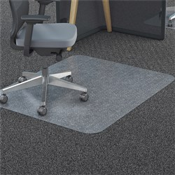 MARBIG TUFFMAT RECTANGULAR CHAIRMAT 900X1200MM